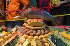 https://flic.kr/p/yTEseq   Festival in Nepal   The festival of the Kings's god is an 8 days festival in Kathmandu celebrate from Newar community. The purpose of the festival is to ask Indra for post-monsoon showers for the harvest of the rice crop.