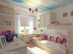 Interior Design Ideas for Girls' Bedroom - Beautiful Teenage Girl Bedroom Ideas