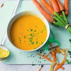 Möhren-Ingwer-Suppe Rezept | Küchengötter