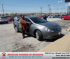 #HappyAnniversary to Debora Davis on your 2011 #Hyundai #Sonata from Ragan Stephen at Absolute Hyundai!
