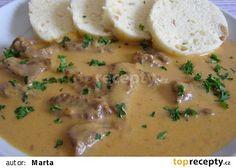Czech Recipes, Ethnic Recipes, Good Food, Yummy Food, No Salt Recipes, Food 52, Main Meals, Cheeseburger Chowder, Mashed Potatoes