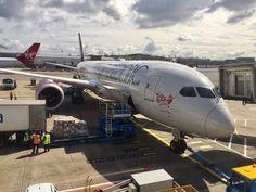 Virgin Atlantic Boeing 787 Dreamliner loading cargo - Boeing 787 Fans (@B787fans)   Twitter
