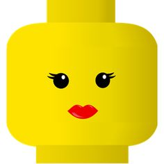 FREE SVG LEGO smiley -- kiss