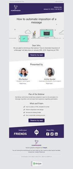 template event invitation email template send smarter