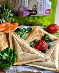 FITT Szendvics lángos lisztből 4db - NAGYON JÓ Paleo, Hummus, Gluten, Cheese, Dishes, Healthy, Tableware, Ethnic Recipes, Food
