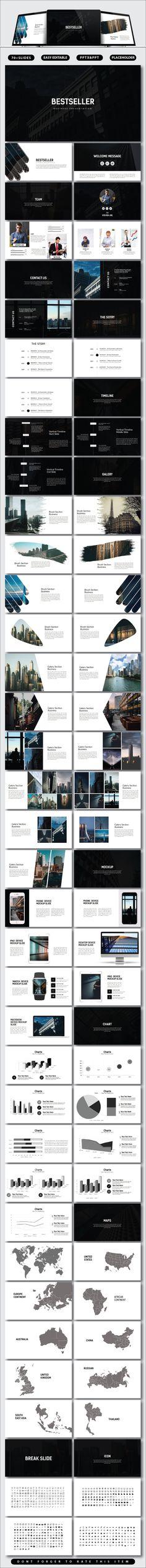 Bestseller Business Presentation - #PowerPoint Templates Presentation Templates