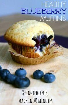 Leckere Blaubeer-Muffins #Aufgetischt #lecker #yummi #EuropaPassage #EuropaPassageHamburg