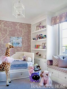54 trendy kids room ideas for girs purple bookshelves Wallpaper Bookshelf, Kids Room Wallpaper, Nursery Bookshelf, Kids Room Organization, Kids Room Design, Room Kids, Teen Girl Bedrooms, Wall Storage, Diy Home Decor