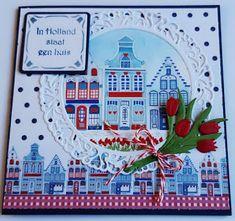 3d Cards, Marianne Design, Big Shot, Holland, Advent Calendar, Dutch, Holiday Decor, Handmade, Diy