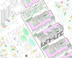 Europan 13 - Linz, Autria The project proposes a change in the perception of planning linked to new value systems and communication tools in our society. In Linz, there is a great need to give to their inhabitants a leading role in the developme...