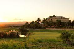 18th Green, Golf Son Gual, Mallorca