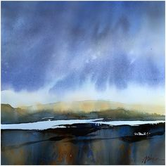 Simple Norwegian Landscape - Thomas W Schaller 17 September 2015
