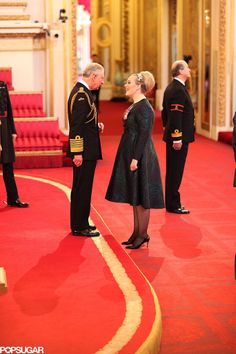 Adele gets a MBE honor from Prince Charles!