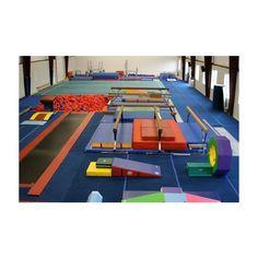 Gymnastics gym ❤ liked on Polyvore featuring gymnast