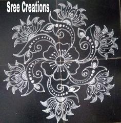 Indian Rangoli Designs, Rangoli Designs Latest, Rangoli Border Designs, Inspirational Books To Read, Rangoli Borders, Special Rangoli, Free Hand Rangoli Design, Simple Rangoli, Indian Art
