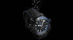 The Omega Seamaster Planet Ocean Deep Black Watches - mens country jewelry, mens silver jewelry designers, fine mens jewelry Omega Seamaster Planet Ocean, Omega Planet Ocean, G Shock, Cool Watches, Watches For Men, Black Watches, Wrist Watches, Men's Watches, Breitling