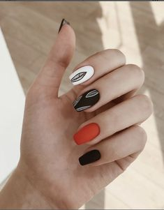 383 best funky nail designs images in 2019 Funky Nails, Trendy Nails, Dream Nails, Love Nails, Cute Acrylic Nails, Gel Nails, Funky Nail Designs, Chrome Nails, Nails On Fleek