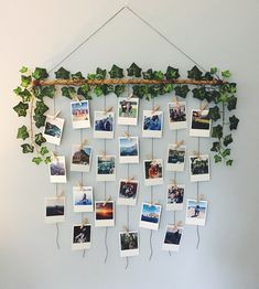27 Creative DIY Wall Decor Ideas That Will Revolutionize Your Space - suna ideas Diy Wall Decor For Bedroom, Room Ideas Bedroom, Decor Room, Room Decorations, Cozy Bedroom, Home Decor, Aesthetic Room Decor, Hanging Photos, Diy Hanging