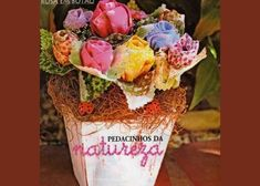 Vamos te mostrar como pode ser legal fazer este arranjo de flores a partir do fuxico! Que tal criar