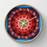 Wall Clocks by Padma D.H. | Society6