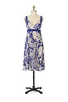 Murmuring Reeds Dress #anthropologie size m