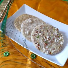 how to make dry fruit and mewa paag for janmashtami