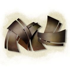 Clippings Metal Wall Sculpture