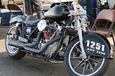 OldMotoDude: Harley-Davidson Land Speed Racer #1251 ridden at the Colorado Mile -- Watkins, Co