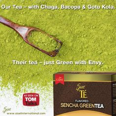 Sisel TÉ is proud to announce the addition of its latest offering: Sencha Green Tea. This incredible green tea is loaded with flavor and contains antioxidants that help energize you while working to support your health. Get your Sencha Green Tea today!!! #Sisel #GreenTea #TomTalks https://www.siselinternational.com/en/US/productdetail.htm…