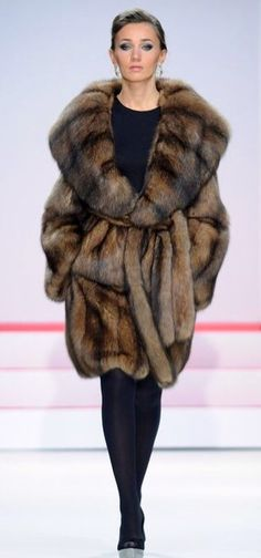 Sable a Fur Coat - a closer look at one I have pinned before.