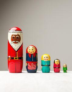 SANTA FAMILY dekoration | Statues | Statyer | Dekorationer | Home | INDISKA Shop Online