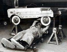 distinguishedcompany: untiltheacropolis: Auto mechanic.