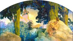 maxfield parrish painting at the minneapolis institute of art - Google Search