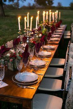 Backyard Farm Wedding Inspiration - Rustic Wedding Chic