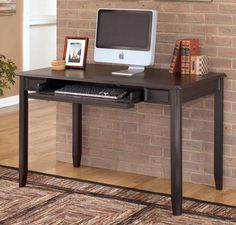 Walnut Desks For Home Office   Real Wood Home Office Furniture Check More  At Http:
