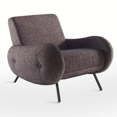 La Redoute Pouf Design, Retro Armchair, Vintage Chairs, Decoration, Love Seat, Projects To Try, Sweet Home, Couch, Living Room