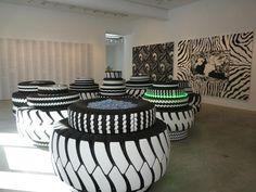 art pneus #pneus #recyclage #quartierdesjantes
