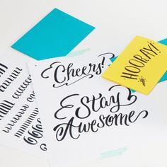 Hand-Lettering Basics Kit