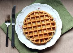 A Less Processed Life: What's For Breakfast: Buttermilk Waffles