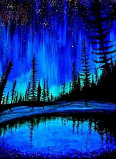 Ty - What is the Aurora Borealis? Beautiful Sky, Beautiful Landscapes, Beautiful World, Photo Bleu, Ciel Nocturne, Galaxy Wallpaper, Blue Aesthetic, Night Skies, Pretty Pictures
