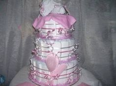 baby diaper cakes - Google Search