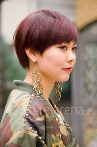 CANNA - Short Hair Style - Red Hair - style-arena.jp