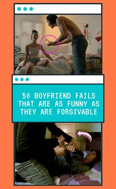 """Oh, boyfriends. Aren't they the best? Everything is all fresh and new in the relationship and they treat their significant others like queens. But…they're still men. And – no offense, men – you can sometimes be a little…""""off""""…in the best way possible! 50 #Boyfriend #fails #that #are #as #funny #as #they #are #forgivable"""
