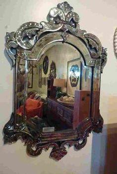 fun venetian mirror