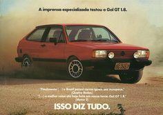1984 VW Gol GT 1.8 - Brasil