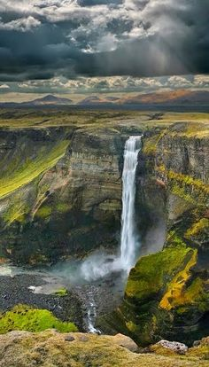 Amazing Places to See - #HáifossWaterfall, #Iceland ► #NaturePhotography