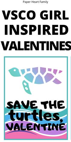 Non-candy Valentine for kids: This VSCO girl Valentine inspires everyone to save the turtles with its cute design and environmentally friendly silicone or stainless steel straw. Johnny Valentine, Straw Valentine, Valentines For Kids, Valentine Day Crafts, Cute Turtles, Heart Day, Kids Sleep, Cute Designs, Holidays And Events