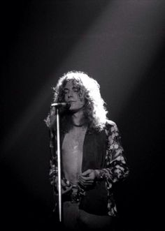 Robert Plant, the best front man in Rock history!!