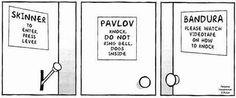 psicologiaybuenhumor: Grandes teóricos del aprendizaje conductual love it. xo