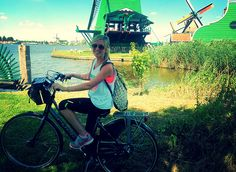 """Biking Through the Dutch Countryside"" Student Photo in the Netherlands"